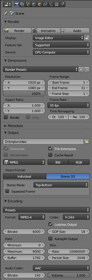 04 Render Settings