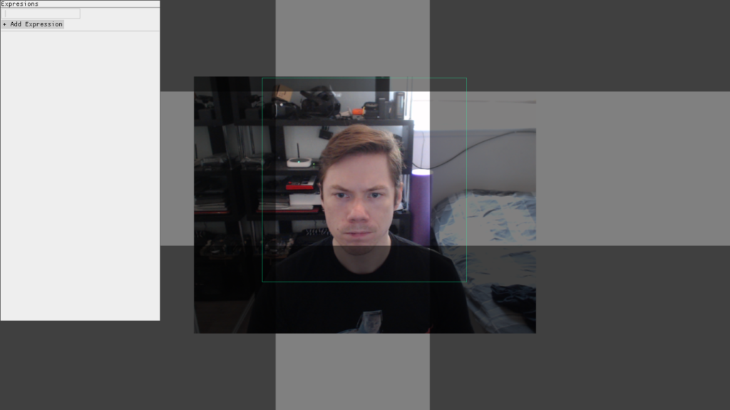 Screenshot of Face Tracking